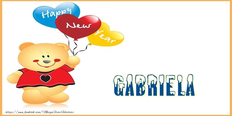 Felicitari de Anul Nou - Happy New Year Gabriela!