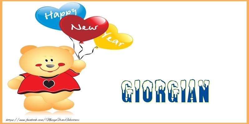Felicitari de Anul Nou - Happy New Year Giorgian!