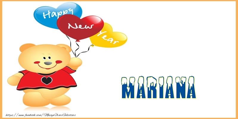 Felicitari de Anul Nou - Happy New Year Mariana!