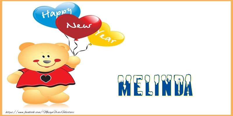 Felicitari de Anul Nou - Happy New Year Melinda!