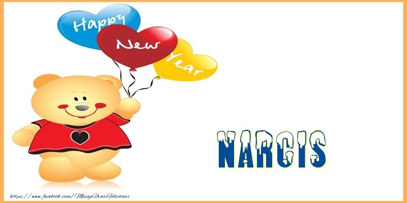 Felicitari de Anul Nou - Happy New Year Narcis!