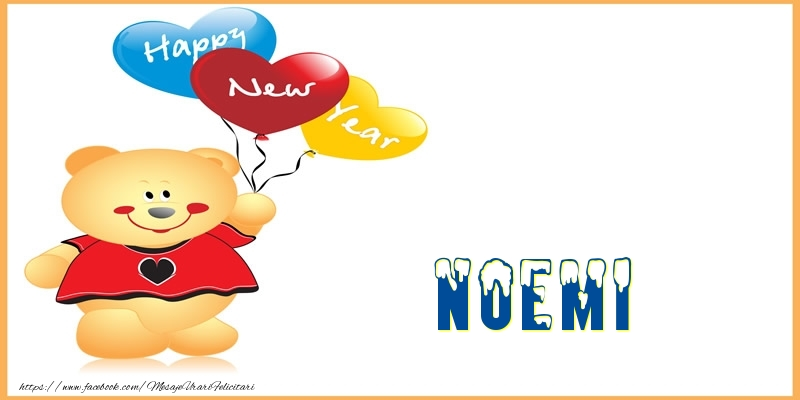Felicitari de Anul Nou - Happy New Year Noemi!