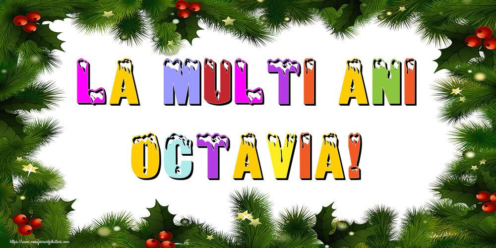 Felicitari de Anul Nou - La multi ani Octavia!