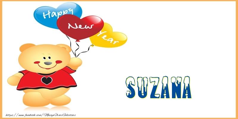 Felicitari de Anul Nou - Happy New Year Suzana!