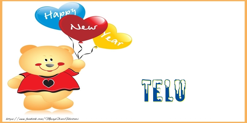 Felicitari de Anul Nou - Happy New Year Telu!