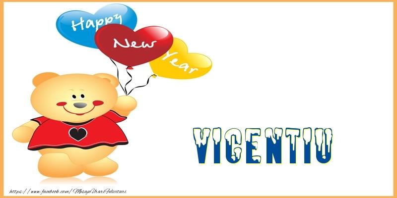 Felicitari de Anul Nou - Happy New Year Vicentiu!