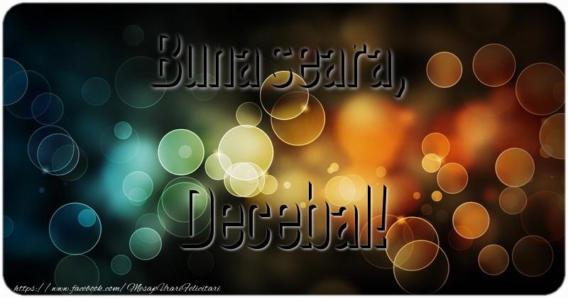 Felicitari de buna seara - Buna seara, Decebal!