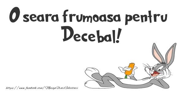 Felicitari de buna seara - O seara frumoasa pentru Decebal!