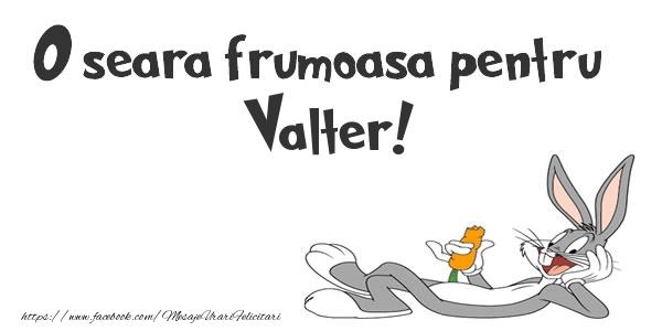 Felicitari de buna seara - O seara frumoasa pentru Valter!