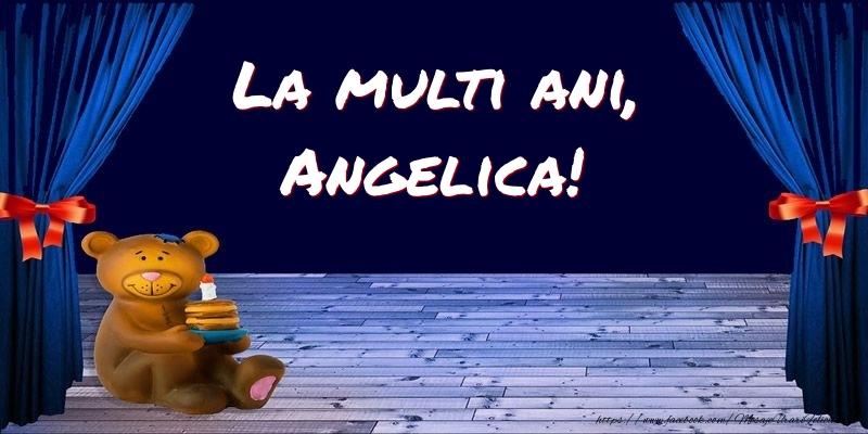 Felicitari pentru copii - La multi ani, Angelica!