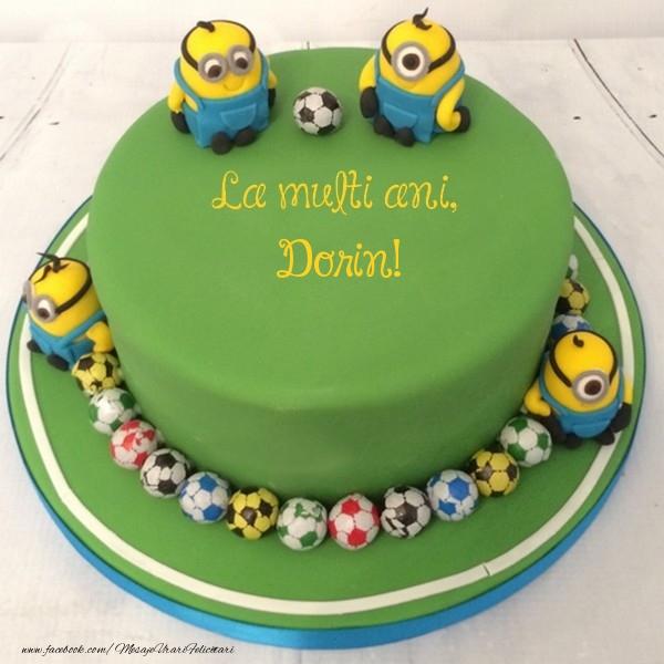 Felicitari pentru copii - La multi ani, Dorin!