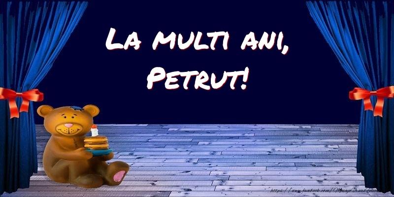 Felicitari pentru copii - La multi ani, Petrut!