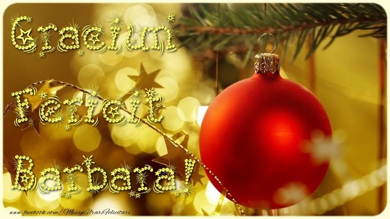 Felicitari de Craciun - Craciun Fericit Barbara