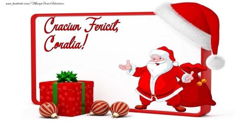 Felicitari de Craciun - Craciun Fericit, Coralia