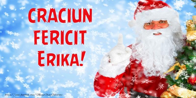 Felicitari de Craciun - Craciun Fericit Erika!