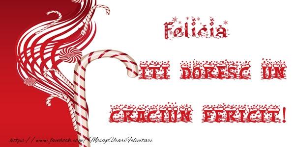 Felicitari de Craciun - Felicia iti doresc un Craciun Fericit!
