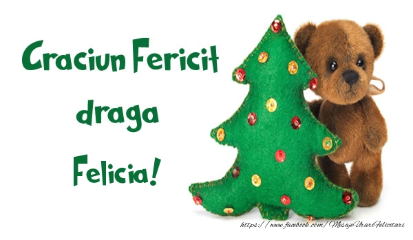 Felicitari de Craciun - Craciun Fericit draga Felicia!