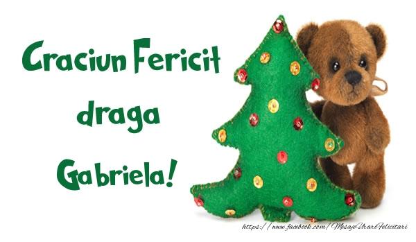 Felicitari de Craciun - Craciun Fericit draga Gabriela!