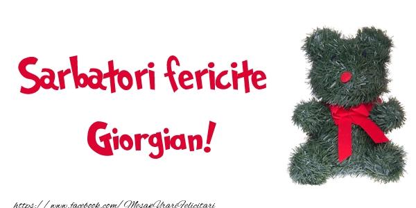 Felicitari de Craciun - Sarbatori fericite Giorgian!