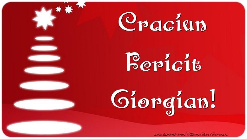 Felicitari de Craciun - Craciun Fericit Giorgian