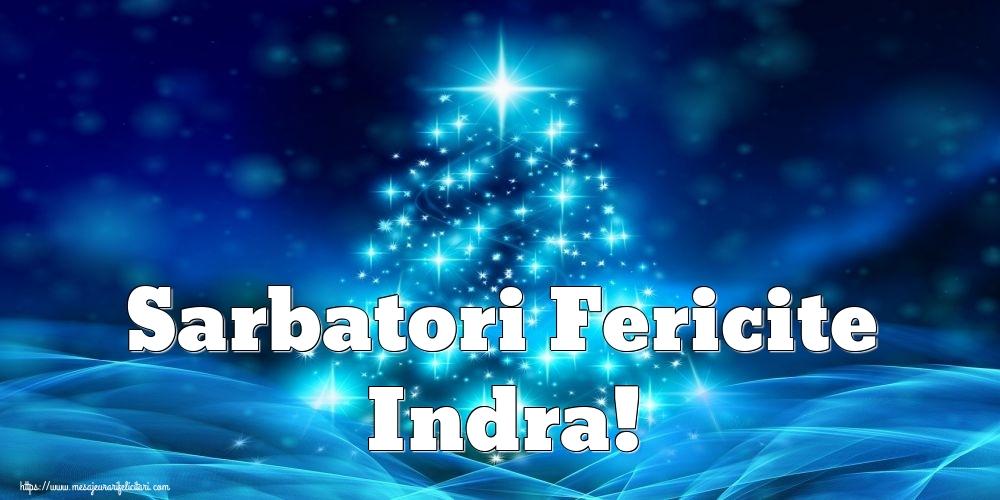 Felicitari de Craciun - Sarbatori Fericite Indra!