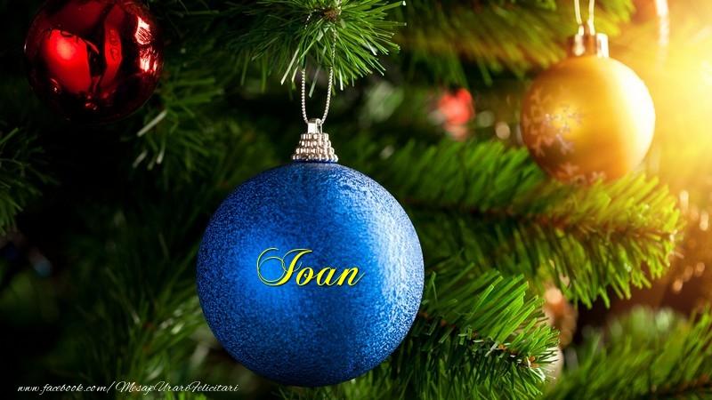 Felicitari de Craciun - Globul tau Ioan