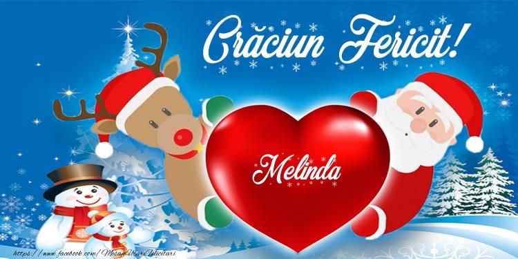 Felicitari de Craciun - Craciun Fericit! Melinda