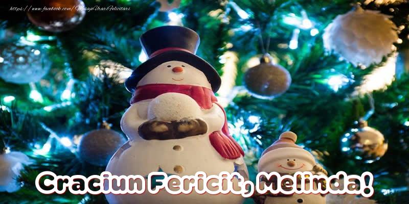 Felicitari de Craciun - Craciun Fericit, Melinda