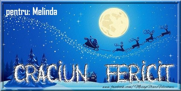 Felicitari de Craciun - Pentru Melinda Craciun Fericit
