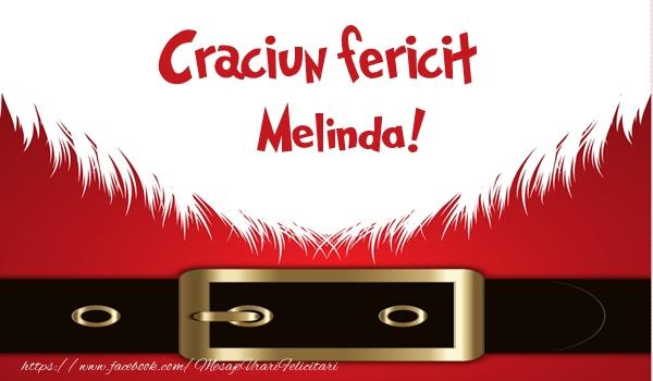 Felicitari de Craciun - Craciun Fericit Melinda!