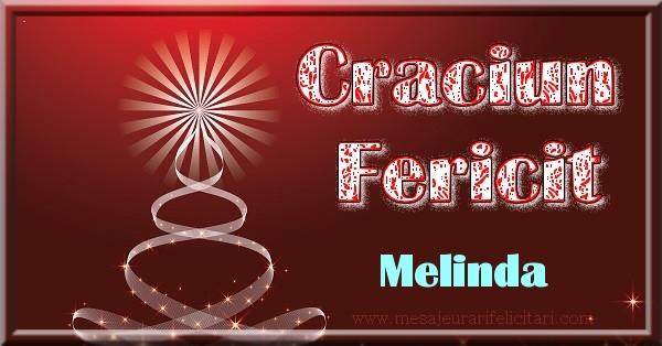 Felicitari de Craciun - Craciun Fericit Melinda