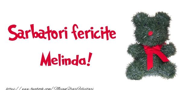 Felicitari de Craciun - Sarbatori fericite Melinda!