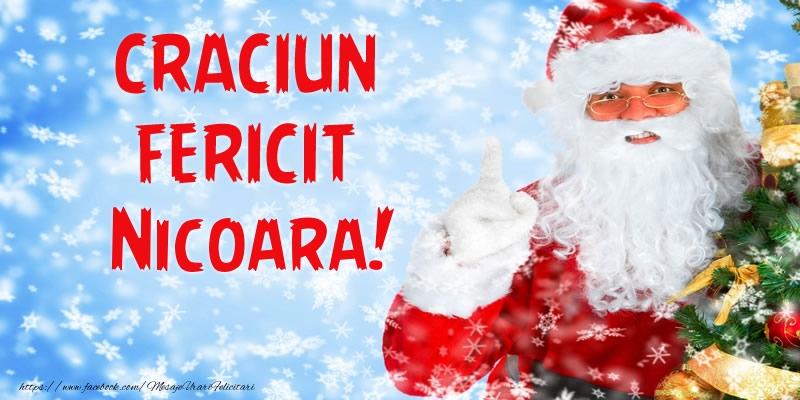 Felicitari de Craciun - Craciun Fericit Nicoara!