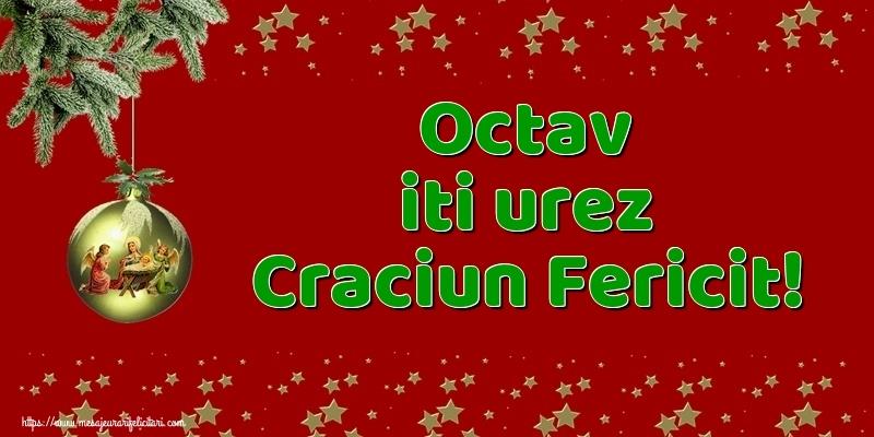 Felicitari de Craciun - Octav iti urez Craciun Fericit!