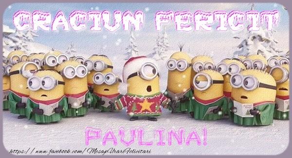 Felicitari de Craciun - Craciun Fericit Paulina