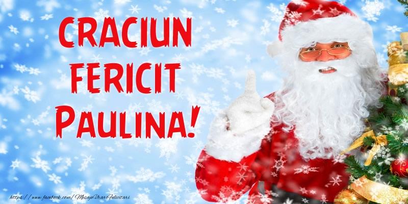 Felicitari de Craciun - Craciun Fericit Paulina!