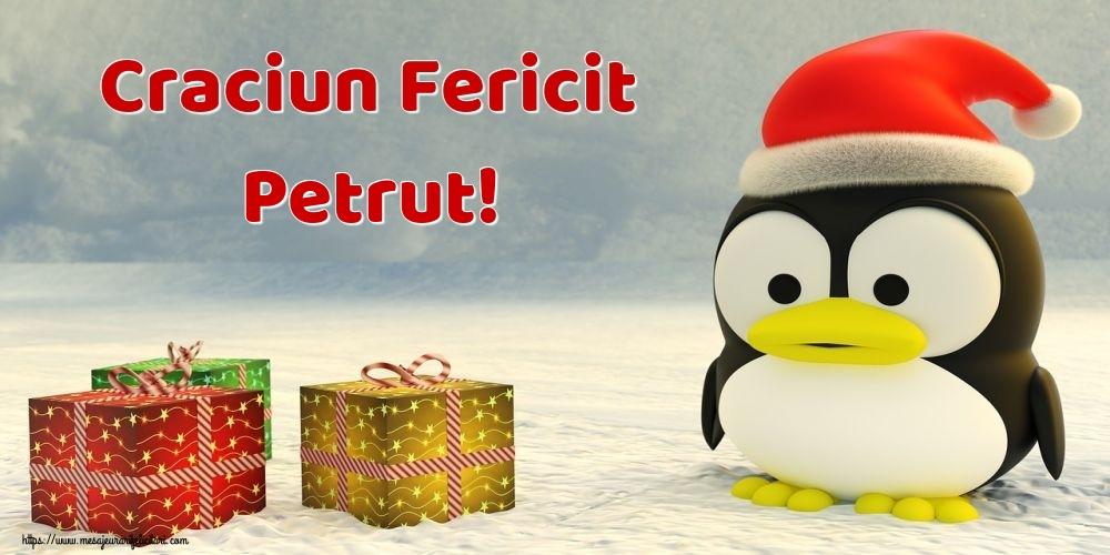 Felicitari de Craciun - Craciun Fericit Petrut!