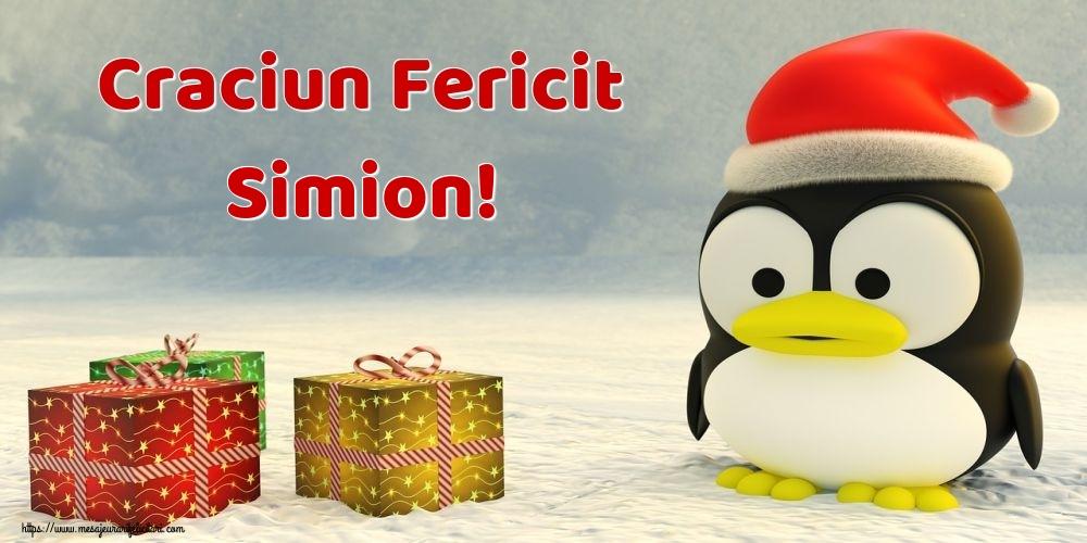 Felicitari de Craciun - Craciun Fericit Simion!