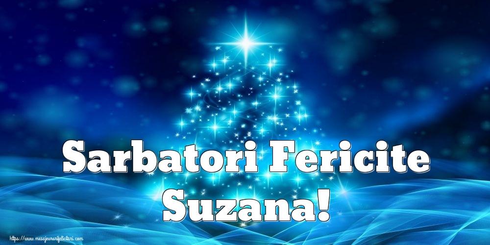 Felicitari de Craciun - Sarbatori Fericite Suzana!