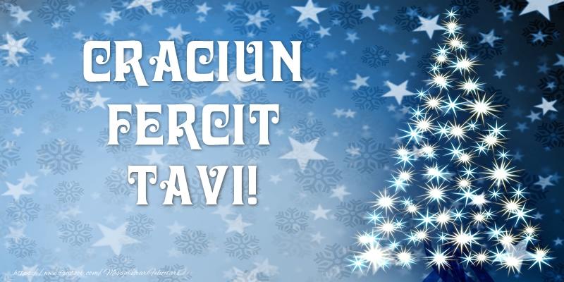 Felicitari de Craciun - Craciun Fericit Tavi!