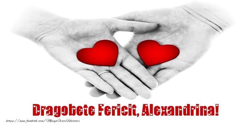 Felicitari de Dragobete - Dragobete Fericit, Alexandrina!