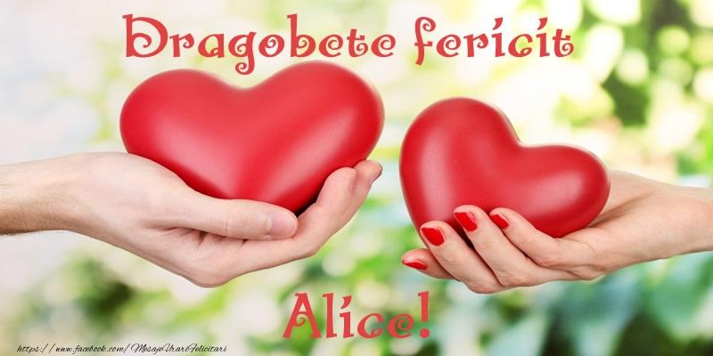 Felicitari de Dragobete - Dragobete fericit Alice!