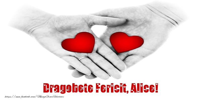 Felicitari de Dragobete - Dragobete Fericit, Alice!