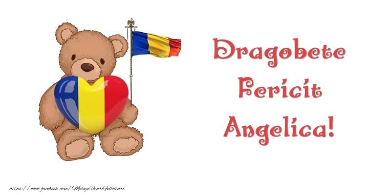 Felicitari de Dragobete - Dragobete Fericit Angelica!