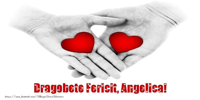 Felicitari de Dragobete - Dragobete Fericit, Angelica!