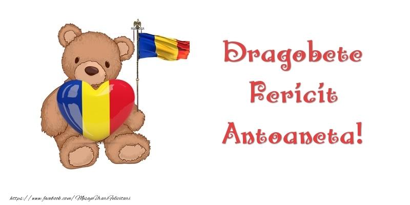 Felicitari de Dragobete - Dragobete Fericit Antoaneta!