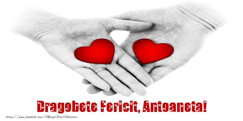 Felicitari de Dragobete - Dragobete Fericit, Antoaneta!