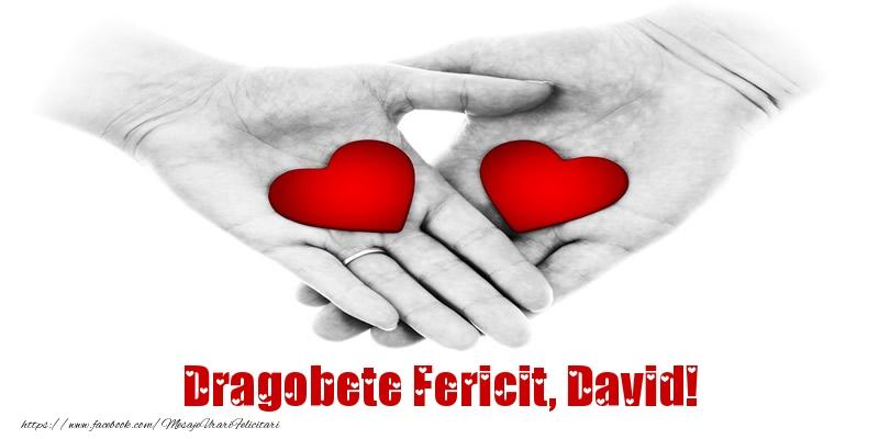 Felicitari de Dragobete - Dragobete Fericit, David!
