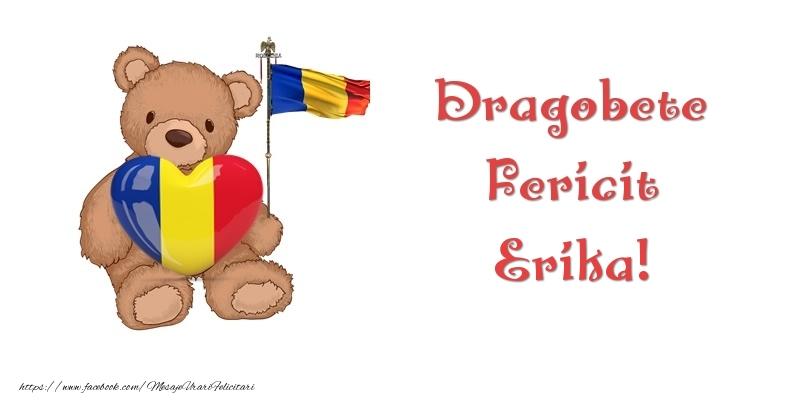 Felicitari de Dragobete - Dragobete Fericit Erika!