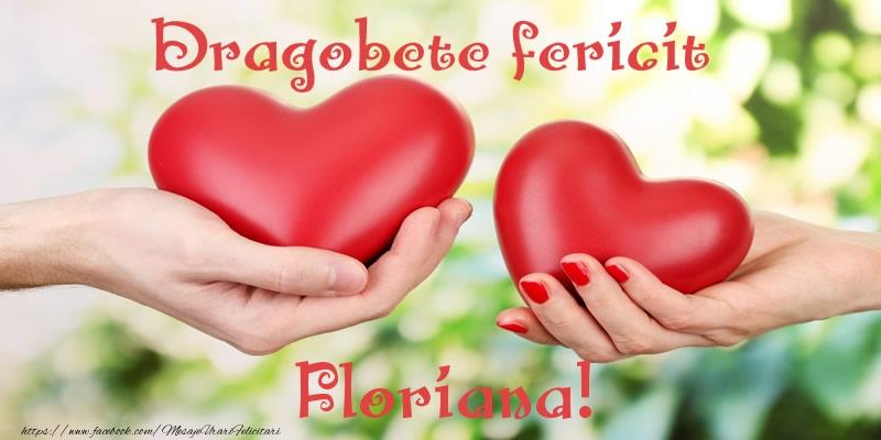 Felicitari de Dragobete - Dragobete fericit Floriana!